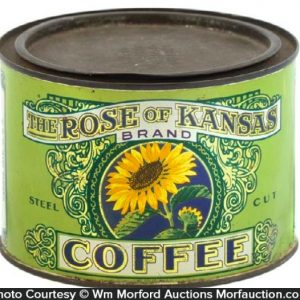Rose Of Kansas Coffee Can