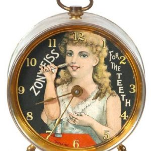 Zonweiss Tooth Powder Clock