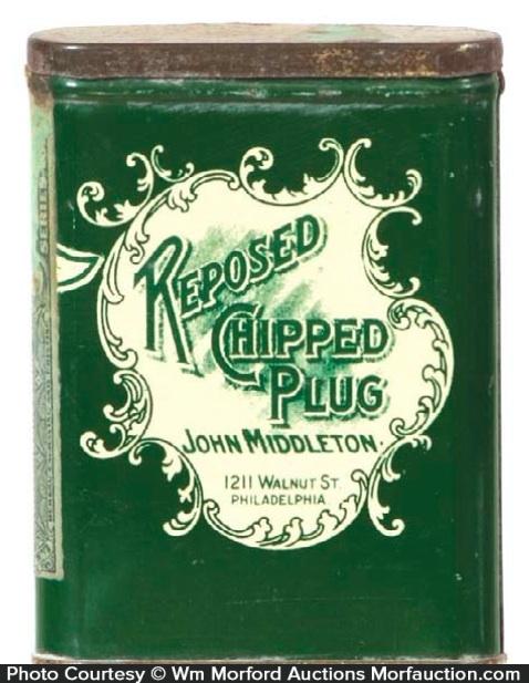 Reposed Tobacco Tin