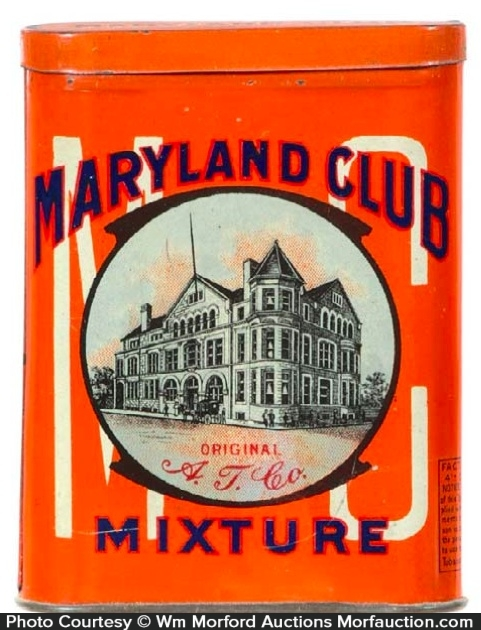 Maryland Club Tobacco Tin