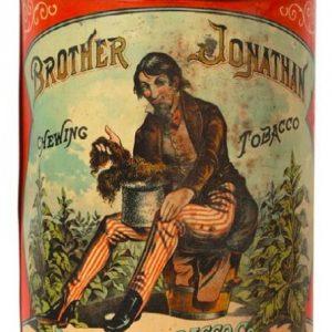 Brother Jonathan Tobacco Tin