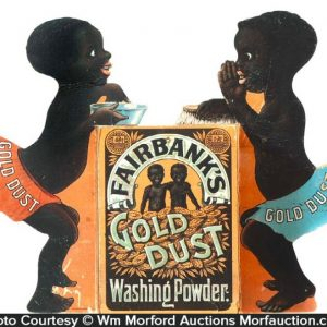 Gold Dust Washing Powder Display