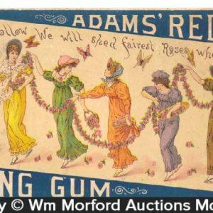 Adams Red Rose Gum Box