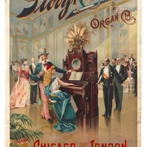 Story & Clark Organs Sign