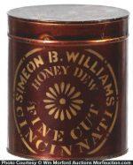 Simon Williams Tobacco Tin