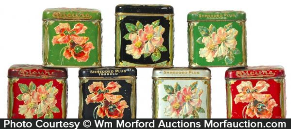 Epicure Tobacco Tins