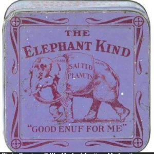 Elephant Kind Peanut Tin