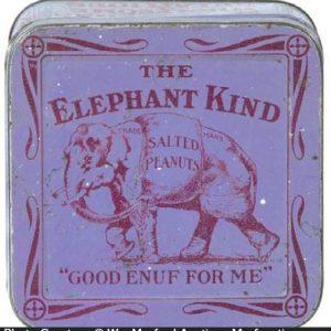 Elephant Kind Peanut Tin