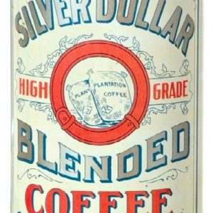 Silver Dollar Coffee Tin