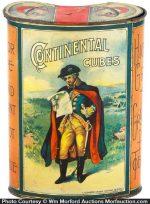 Continental Cubes Tobacco Tin