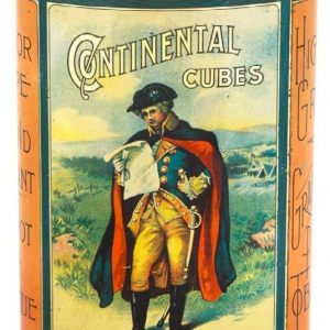 Continental Cubes Tobacco Tin
