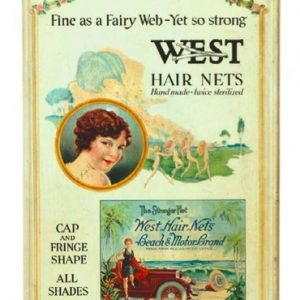 West Hair Nets Display
