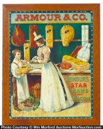 Armour & Co. Start Hams Sign