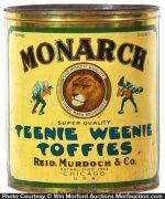 Monarch Teenie Weenie Toffies Tin