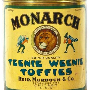 Monarch Teenie Weenie Toffies Tin