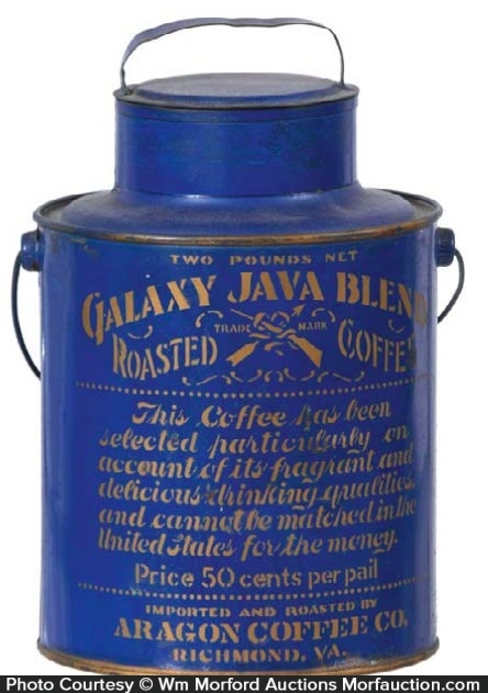 Galaxy Java Coffee Pail