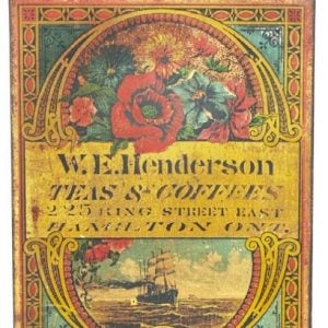 Henderson Tea & Coffee Tin
