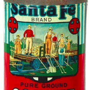 Santa Fe Coffee Can