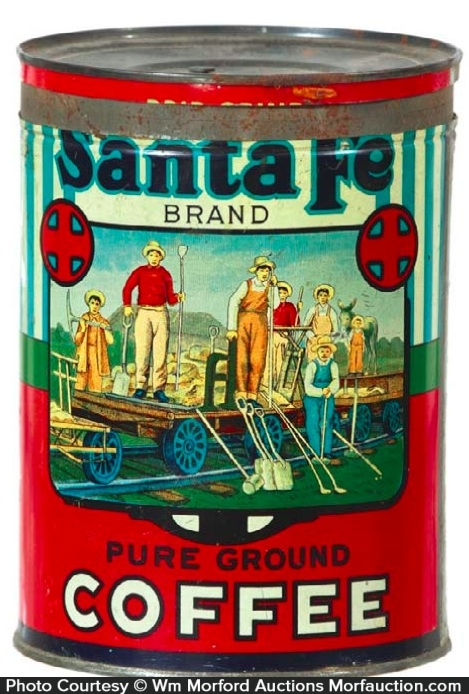 Santa Fe Coffee Can