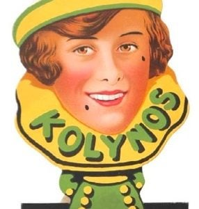 Kolynos Dental Cream Sign