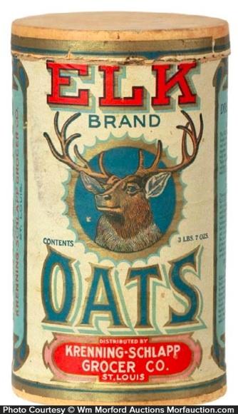 Elk Oats Box