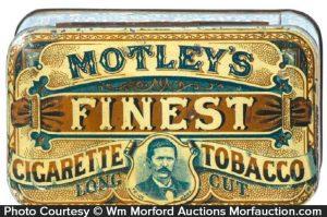Motley's Finest Tobacco Tin