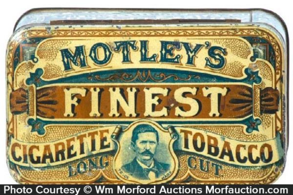 Motley's Finest Tobacco Tin