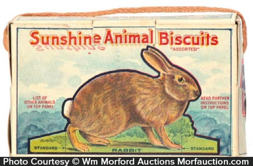 Sunshine Animals Biscuits Box