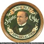 William Mckinley Cigars Tray