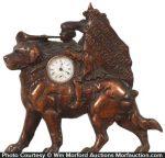 Jackson Coon Advertising Clock