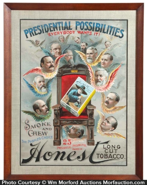Honest Tobacco Poster