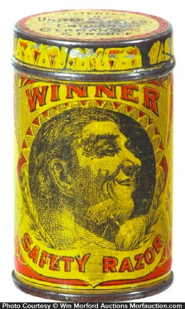 Winner Safety Razor Tin