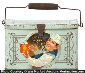 U. S. Marine Tobacco Lunch Box