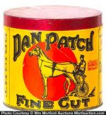 Dan Patch Tobacco Can