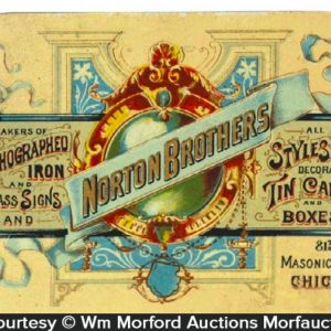 Norton Brothers Trade Card