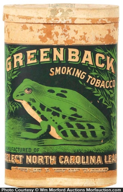 Greenback Tobacco Display Box