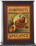 Humphrey's Specifics Cabinet
