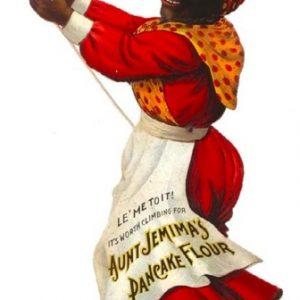 Aunt Jemima Pancake Flour Sign