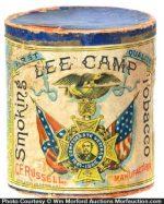 Lee Camp Tobacco Box