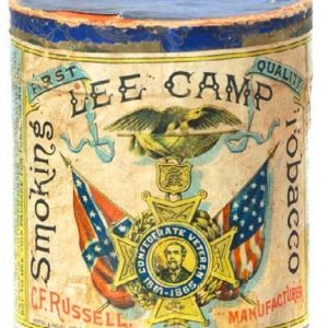 Lee Camp Tobacco Box