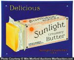 Sunlight Butter Sign