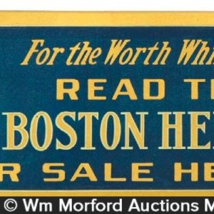 Boston Herald Sign
