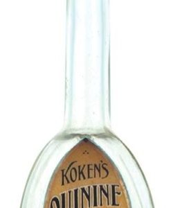 Koken's Quinine Tonic Bottle