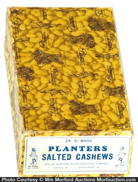 Planters Cashews Box