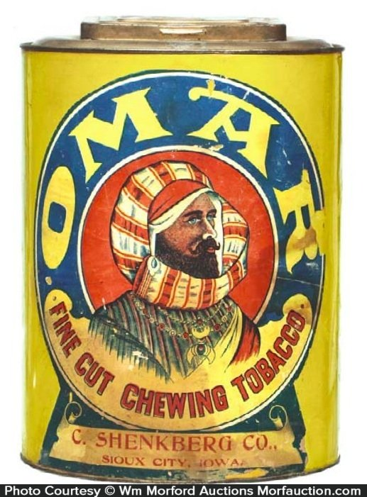 Omar Tobacco Tin