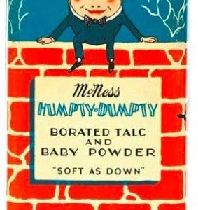 Humpty-Dumpty Talc Tin