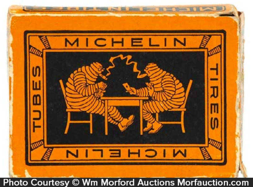 Michelin Playing Cards