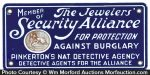 Pinkerton's Detective Agency Sign
