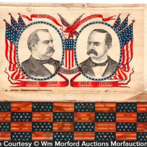 Grover Cleveland Cigar Box