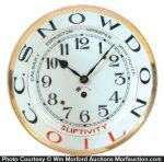 Snowdon Sliptivity Oil Clock